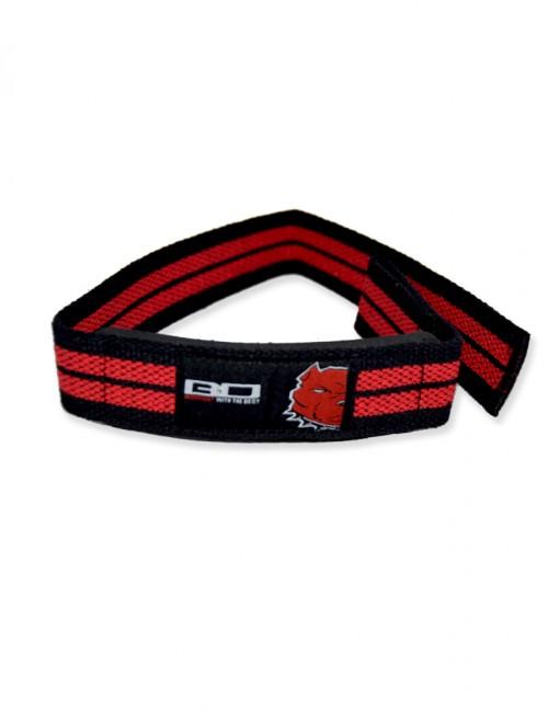 Lifting Straps Black/Red