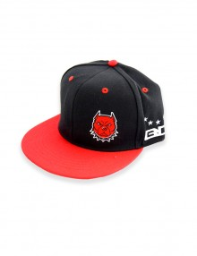 Hat BlackRed