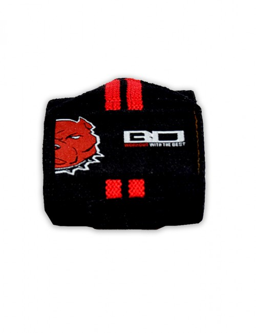 Lifting Wrist Strap Black/Red