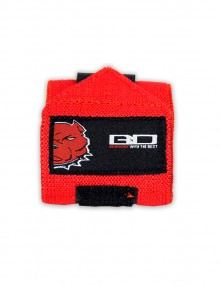 Lifting Wrist Strap Red